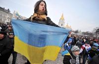 محتجون يحاولون اقتحام مقر الرئاسة الاوكرانية
