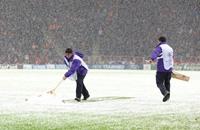 تأجيل مباراة غلاطة سراي ويوفنتوس بسبب الثلوج