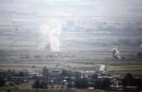 الحر: طيران النظام السوري يقصف قرب الجولان