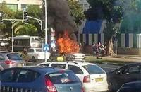 إصابة إسرائيلي بانفجار سيارة
