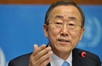 """كي مون يصف الحرب اليمنية بـ""""المروعة"""" ويدعو لمحاسبة المتورطين"""