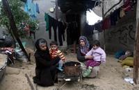 شتاء غزة المحاصرة يعيد ذكريات نكبة 1948