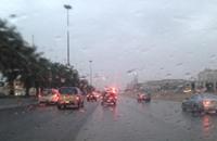أمطار غزيرة وانخفاض درجات الحرارة في السعودية