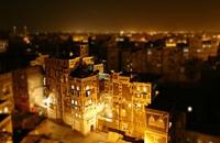 """مدن يمنية تغرق في الظلام إثر """"إعتداء تخريبي"""""""