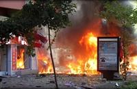 إصابة شرطيين اثنين في تفجير قنبلة بالبحرين