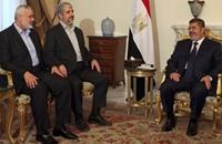 حماس ومرسي  والقرضاوي والإخوان أمام القضاء المصري