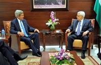 كيري يعرض على عباس اتفاق إطار الشهر الجاري
