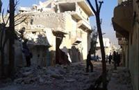 قتلى وجرحى في ريفي حلب بقصف لطائرات التحالف والنظام
