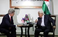 كيري يلتقي عباس مجددا في رام الله