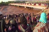 أضرار جسيمة في جنوب المغرب جراء الفيضانات (فيديو)