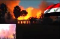 """النظام يفجر قصر رستم غزالة بدرعا لـ""""حمايته"""" (فيديو)"""