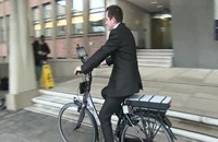 """دراجة """"ذكية"""" في هولندا (فيديو)"""