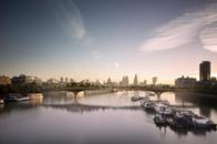 لندن توافق على مشروع حديقة على شكل جسر بنهر تيمز