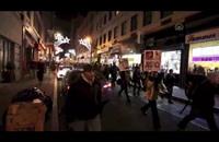 محتجون أميركيون يردون على مظاهرة تأييد للشرطة (فيديو)