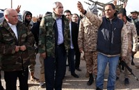"""""""حكومة الإنقاذ"""" تقتحم مقر وزارة لحكومة الوفاق في طرابلس"""