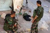 شبيحة حلب يبيعون الحشيش على الحواجز والطلبة زبائن لهم