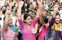 احتجاجات في الهند على حملة لنشر الهندوسية