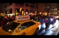 احتجاجات مستمرة ضد الشرطة الأمريكية في نيويورك (فيديو)