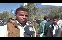 مسيرة بصنعاء تطالب بإخراج مسلحي الحوثي من كلية الطب (فيديو)