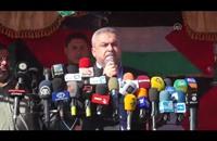 الفصائل الفلسطينية تتظاهر لرفع الحصار وبدء الإعمار (فيديو)