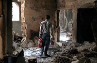 مقتل 30 حوثيا في تفجير استهدف احتفالا لهم بإب