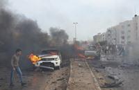 تفجير أمام مقر برلمان طبرق في ليبيا