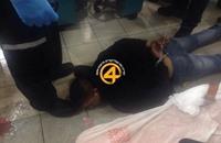 لحظات طعن إسرائيليين بمجمع تجاري بالقدس (فيديو)
