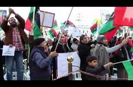 المئات يتظاهرون في طرابلس احتجاجًا على اتفاق الصخيرات