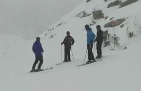 محطات التزلج تتكيف مع الاحترار المناخي