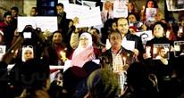 """مسيرة صامتة لصحفيين مصريين تنتهي بتقديم بلاغين ضد """"الداخلية"""""""