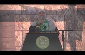 مهرجان نسائي في غزة دعما لانتفاضة الأقصى