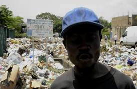 كينشاسا تغرق تحت أكوام القمامة