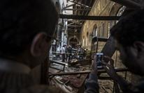 25 قتيلا في انفجار داخل كنيسة قبطية في القاهرة (فيديو)