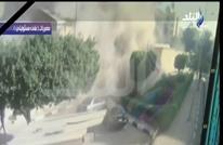 أحمد موسى يعرض مشهدا للحظة تفجير الكنيسة بالقاهرة (شاهد)