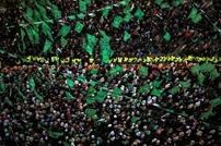 مهرجان بغزة في الذكرى الـ 29 لتأسيس حماس