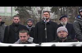 مظاهرات تضامن مع حلب في مدن أوروبية