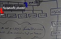 سبورة تكشف معسكرا لداعش بالسعودية
