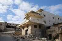 دارة عزة في حلب، مدينة أشباح بفعل القصف