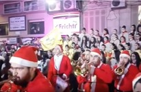 """تحويل احتفالات الميلاد بحلب لمهرجان احتفال بـ""""النصر"""" (شاهد)"""