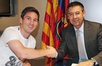 بارتوميو: برشلونة يسعى لجعل ميسي الأعلى دخلا بالعالم