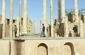 متطوعون يجهدون لحماية مدينة أثرية رومانية في ليبيا