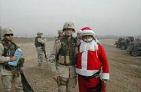 جنود أمريكيون يحتفلون بعيد الميلاد في العراق مجددا