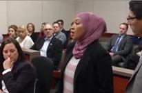 مسلمة أمريكية تعفو عمن اعتدى عليها (فيديو)