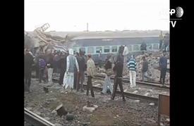 قتيلان على الأقل بانحراف قطار عن مساره في الهند