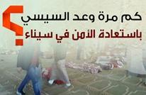 هذه وعود السيسي باستعادة الأمن في سيناء (إنفوجرافيك)