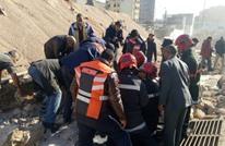 قتلى وجرحى في انهيار سور بالدار البيضاء المغربية (شاهد)