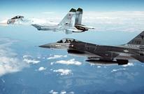 طلقات تحذيرية أمريكية لمقاتلتين روسيتين فوق سوريا