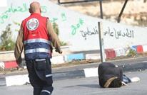 إصابة فلسطيني برصاص الاحتلال بعد تنفيذه عملية طعن (شاهد)