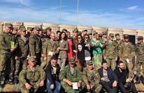 حفل روسي بمناسبة رأس السنة بقاعدة حميميم بسوريا (فيديو)