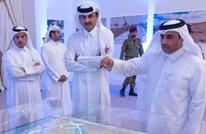 أمير قطر يدشن مشروع الخزانات الاستراتيجية لتأمين المياه